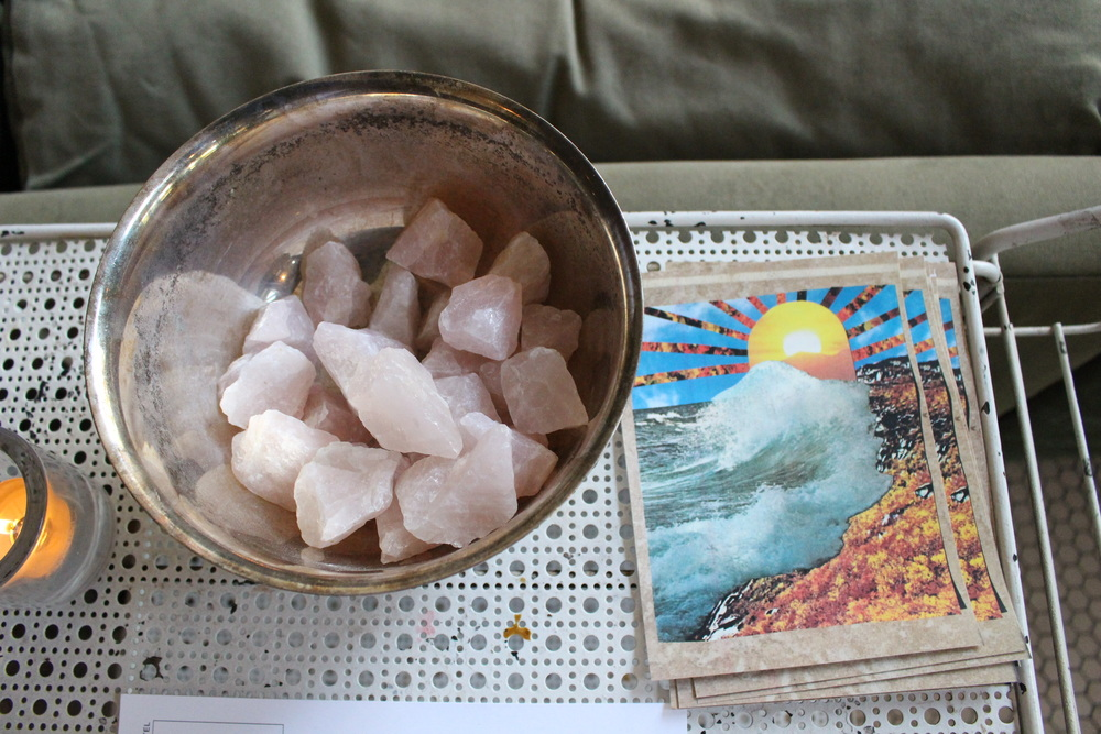 Complimentary Rose Quartz & Guided Meditation