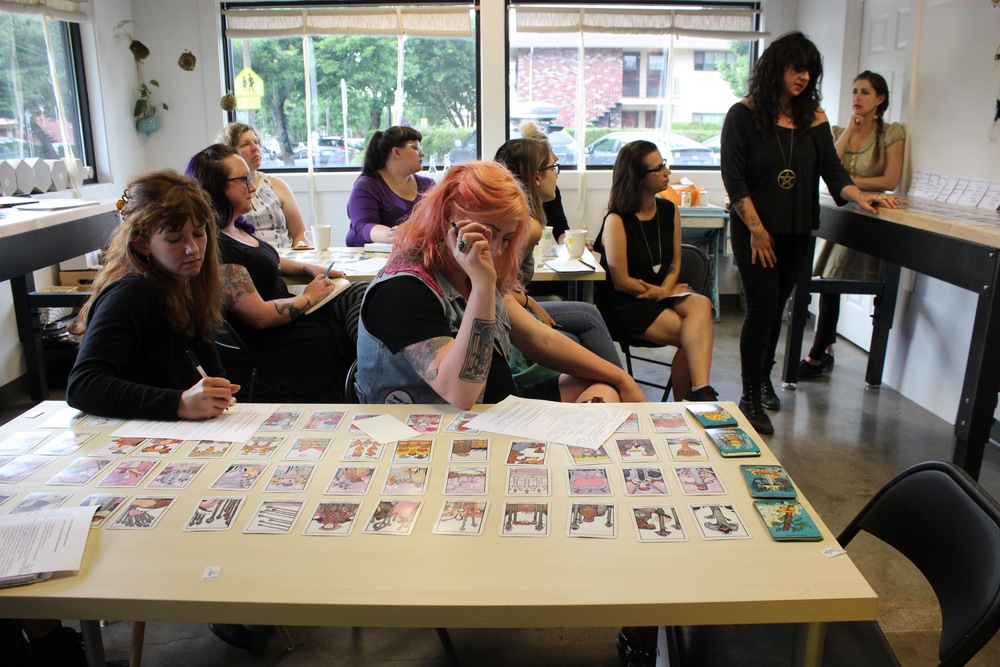 Two teachers are better than one! Tarot Basics Workshop with Ann Heideman AKA Priestess Bling