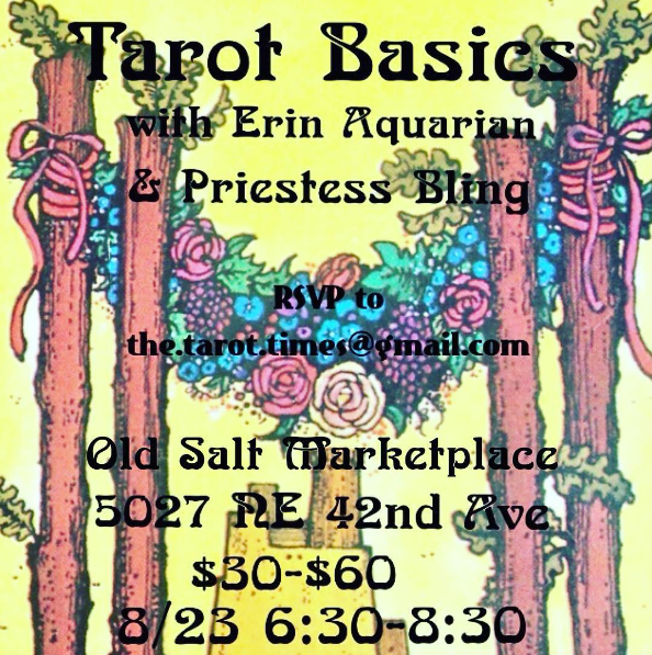 Back to Tarot School with Priestess Bling