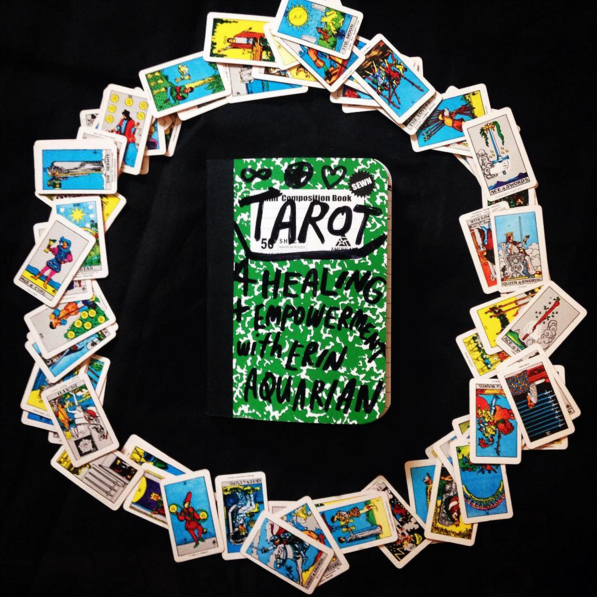 Tarot For Healing + Empowerment is offered monthly