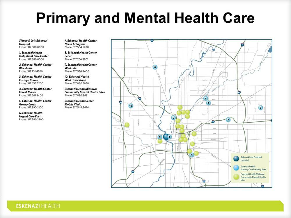Eskenazi Health Primary Care Locations Indiana Getc
