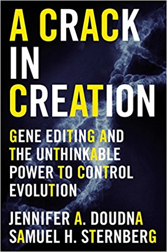 https://www.amazon.com/Crack-Creation-Editing-Unthinkable-Evolution/dp/0544716949/ref=sr_1_1?ie=UTF8&qid=1501008840&sr=8-1&keywords=crack+in+creation