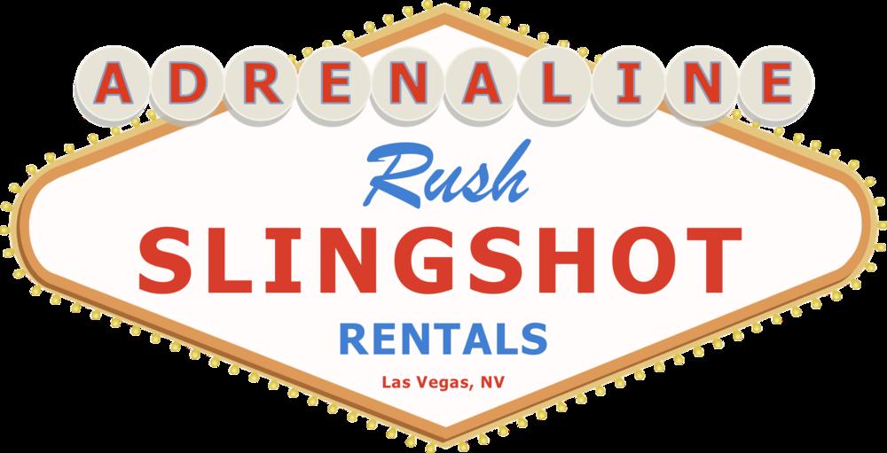 Adrenaline Rush Slingshot Rentals Las Vegas Logo