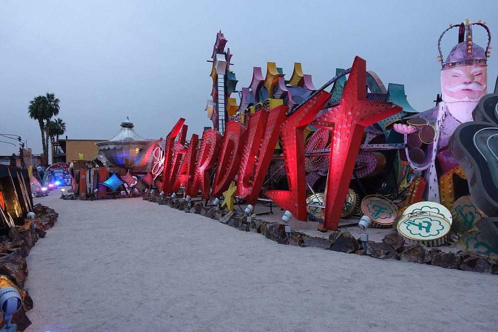 Considered to be both artistically and historically significant to the culture of the city, The Neon Boneyard features signs from old casinos and other businesses displayed outdoors on over 6 acres.