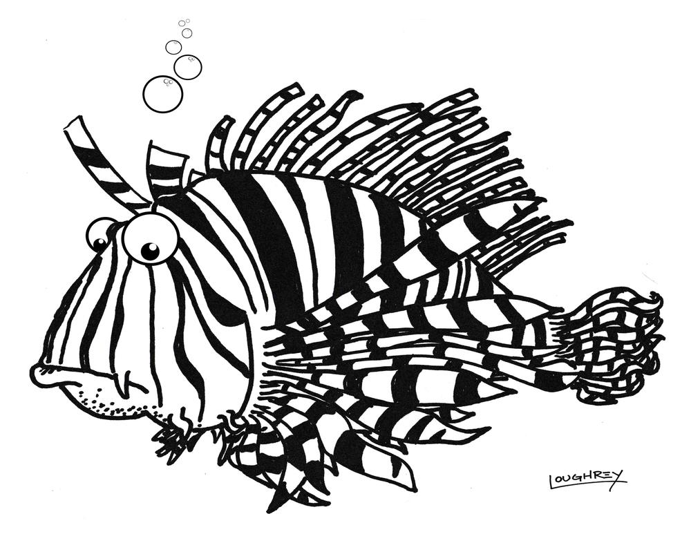 Tasty Roy Lionfish