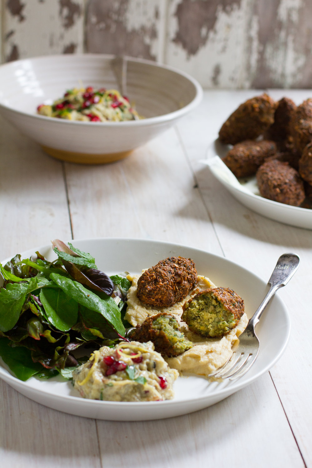 Once you've tried making these, you'll never go back to the store bought kind. Here's my step by step to the best falafel you've ever eaten