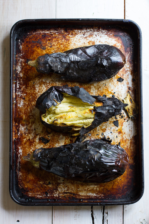 Barbeque roasted babaganoush with pomegranite and lemon-2.jpg