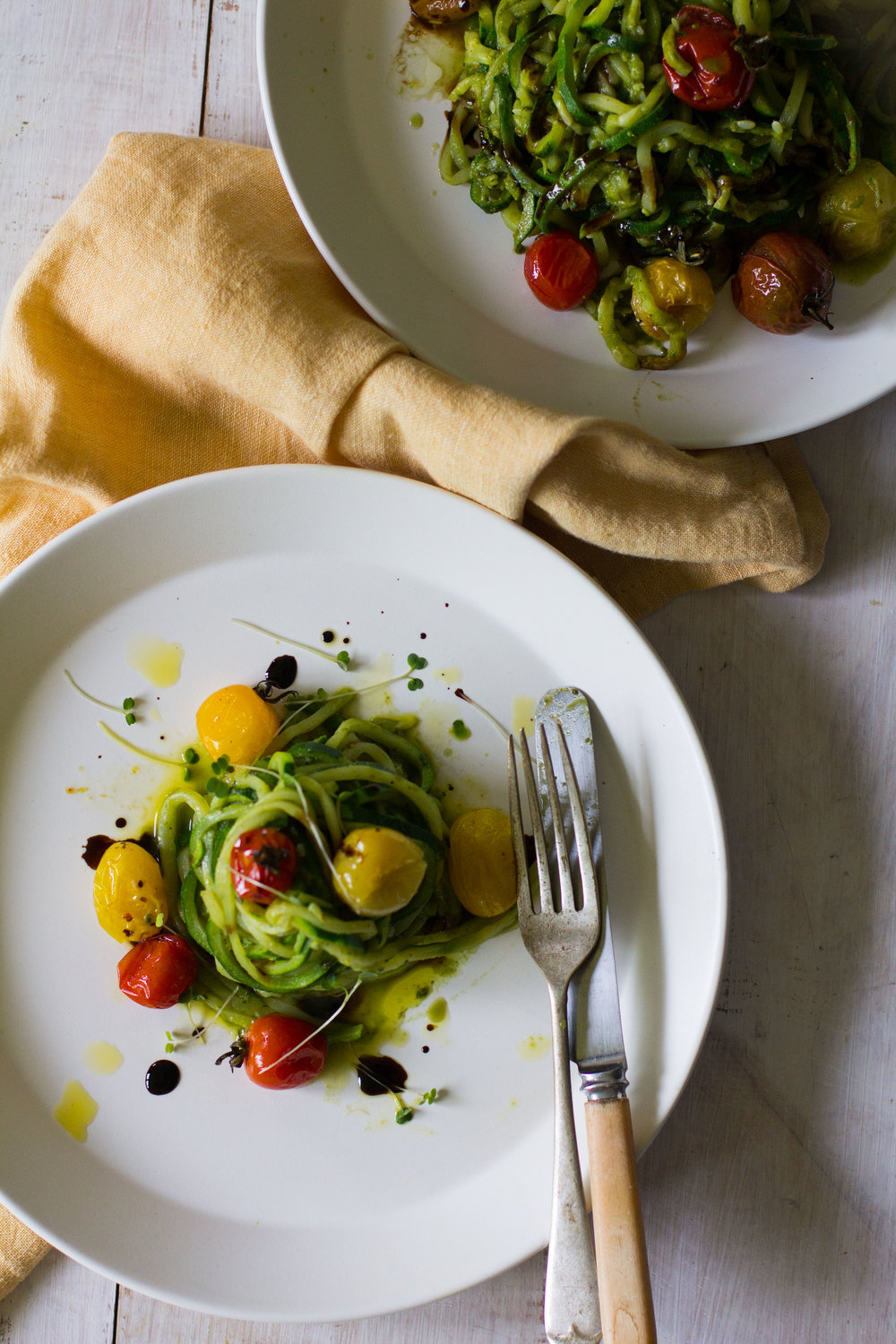 Zucchini pesto pasta with roasted tomatoes and balsamic drizzle-3.jpg