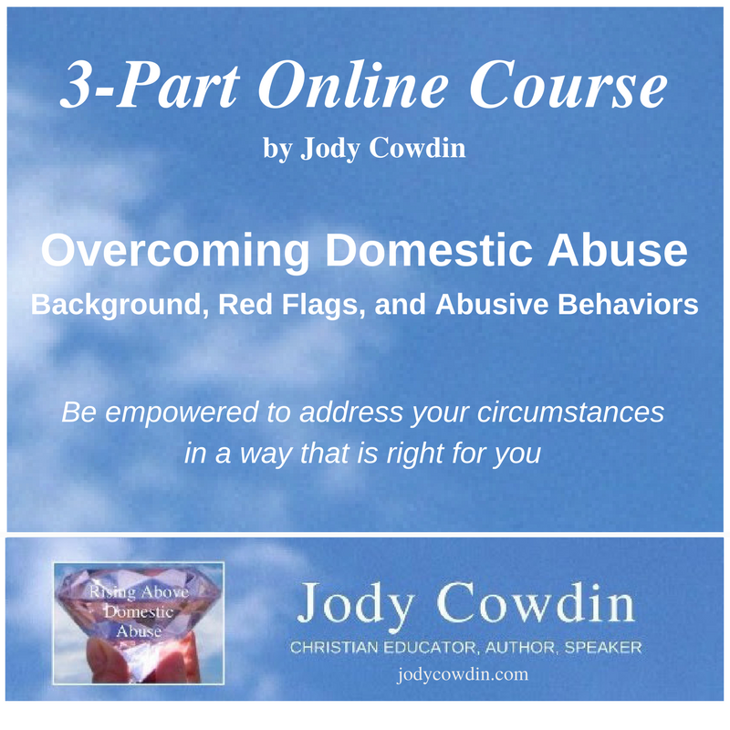 Overcoming Abuse online class