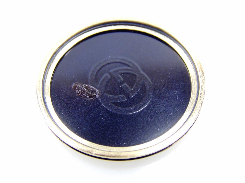15d239bf4fa Vintage Black   Gold Authentic Gucci 2000M Mens Womens Unisex Stack Luxury  Designer Roman Numeral Swiss Quartz Watch w Box ETA 561.001