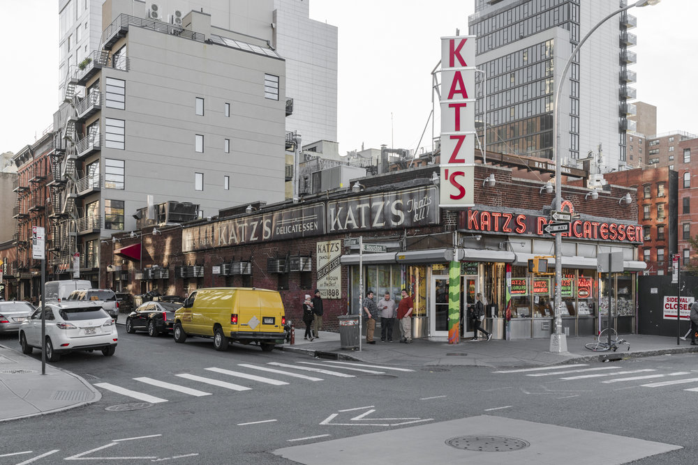 Katz's Deli, East Village NYC