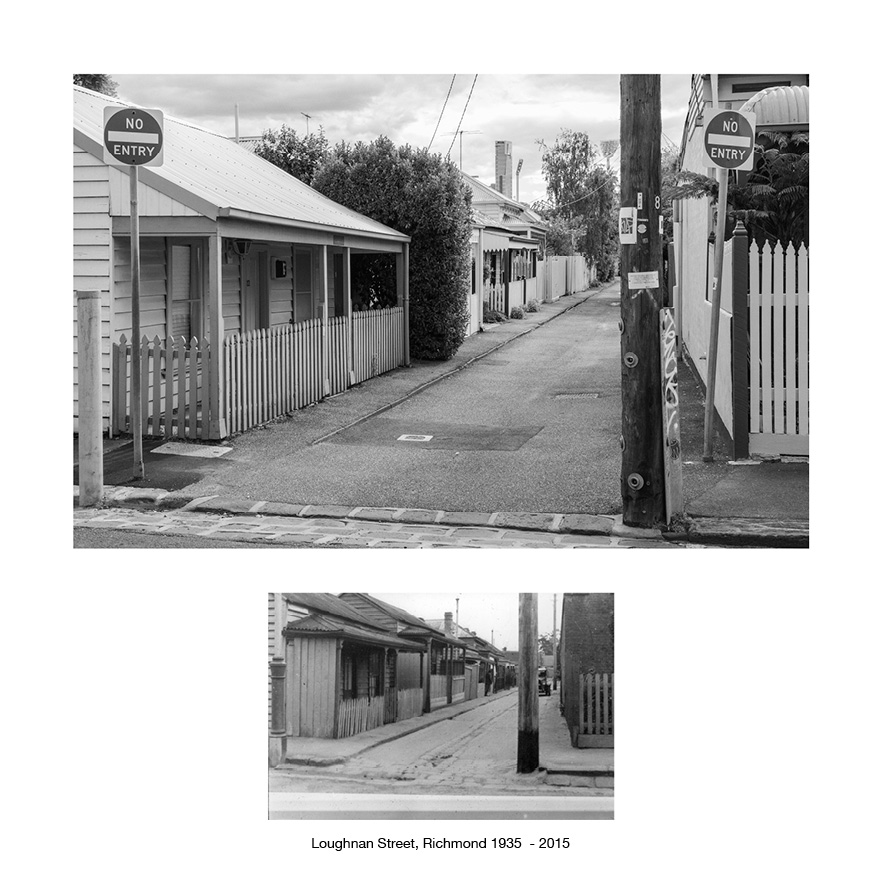 Loughnan Street Richmond 1935 - 2015