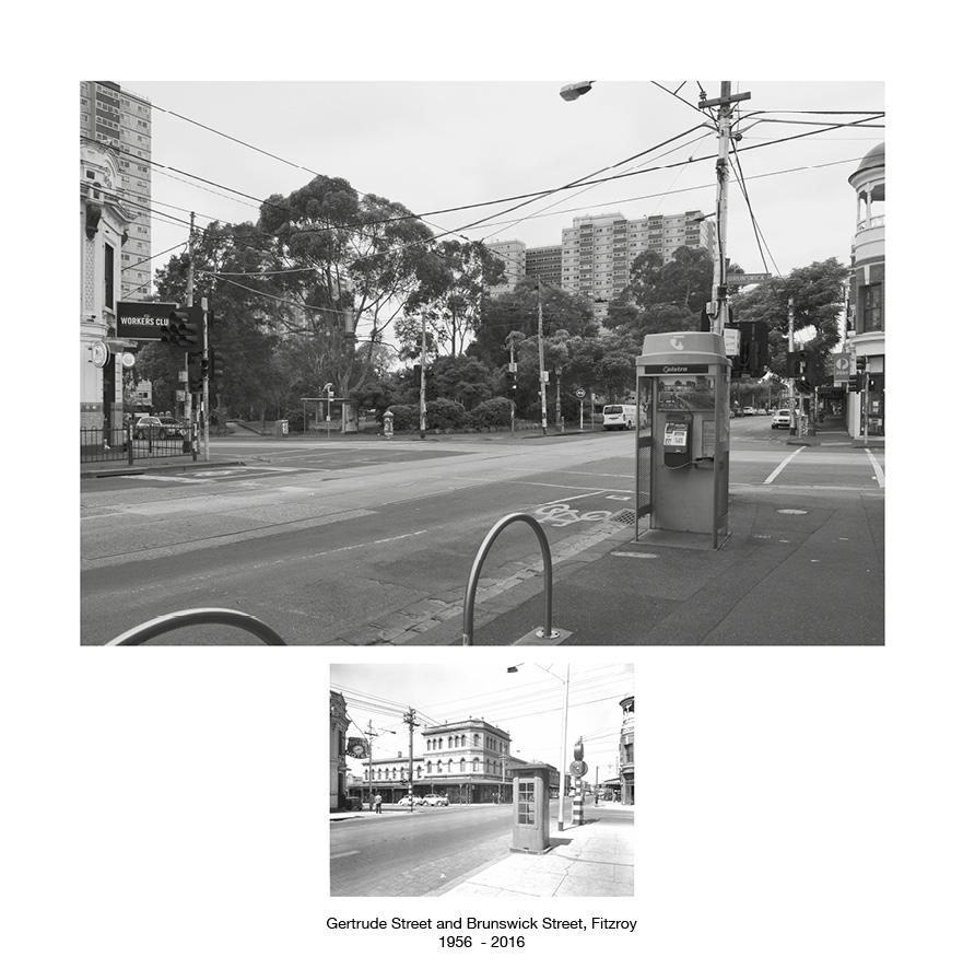 Gertrude Street and Brunswick Street, Fitzroy c.1959 - 2016.jpg