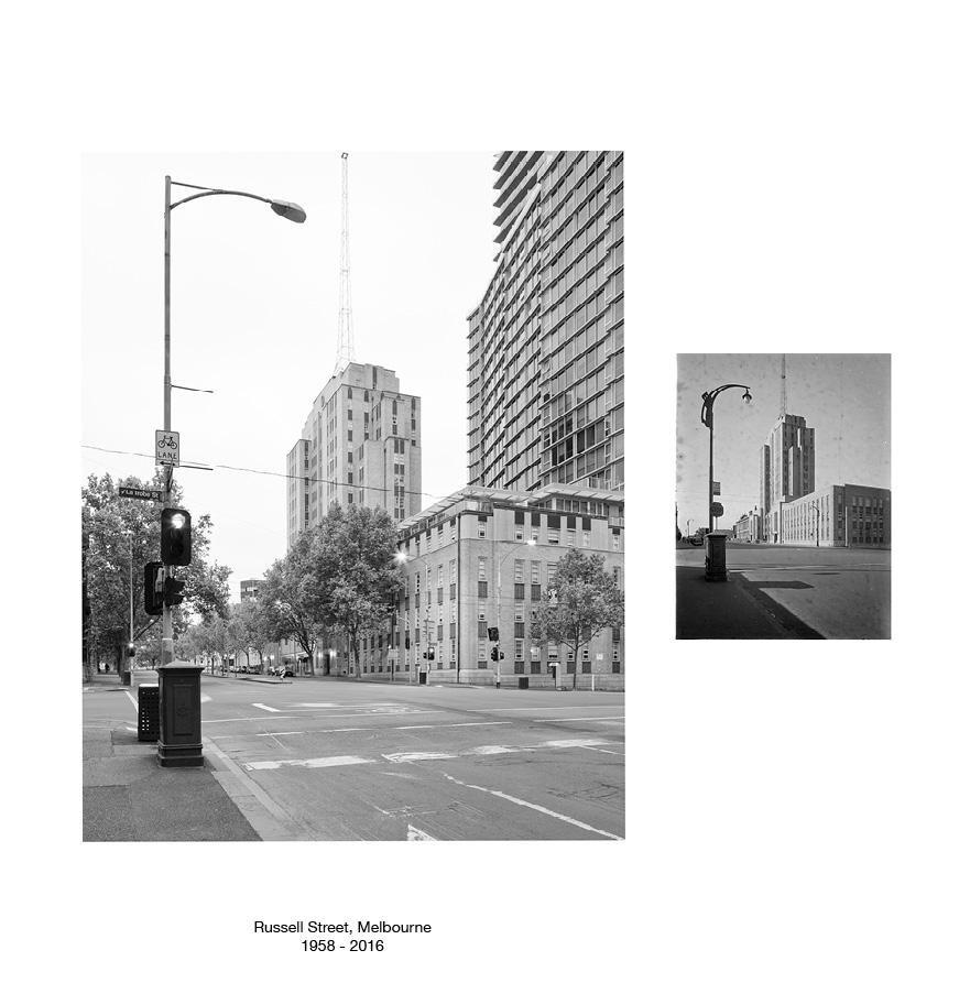 Russell Street, Melbourne c.1958 - 2016.jpg