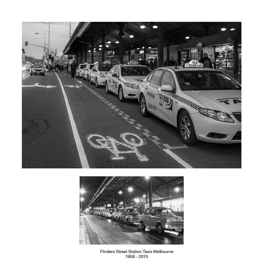 Flinders Street Taxis Melbourne c.1959 - 2015.jpg