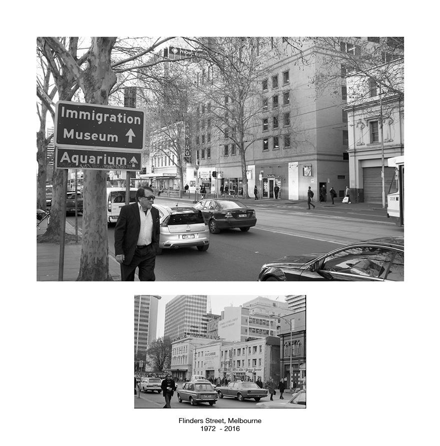Flinders Street, Melbourne 1972 - 2015.jpg