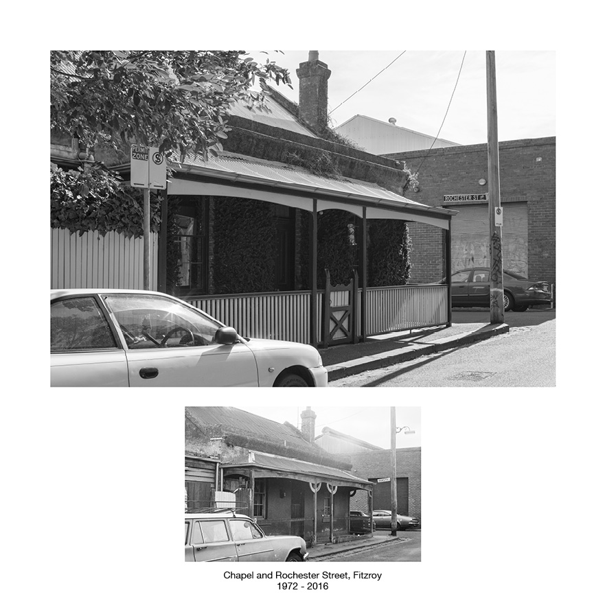 Chapel and Rochester Street, Fitzroy 1972 - 2016.jpg
