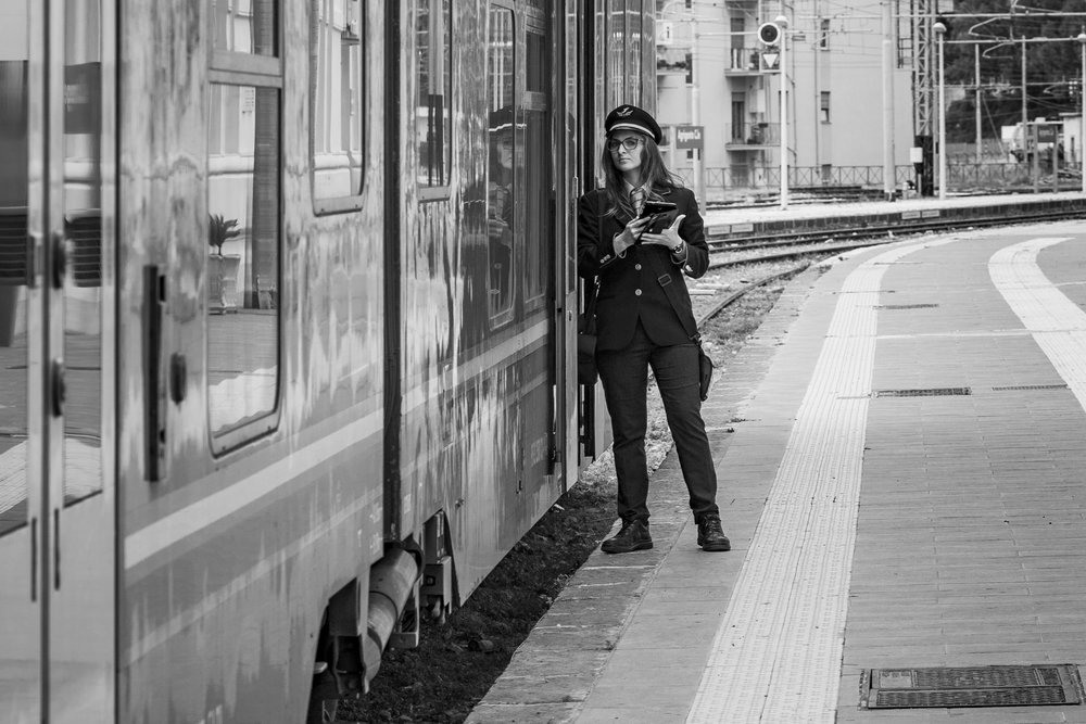 Railway Guard, Caltanisetta, Sicily