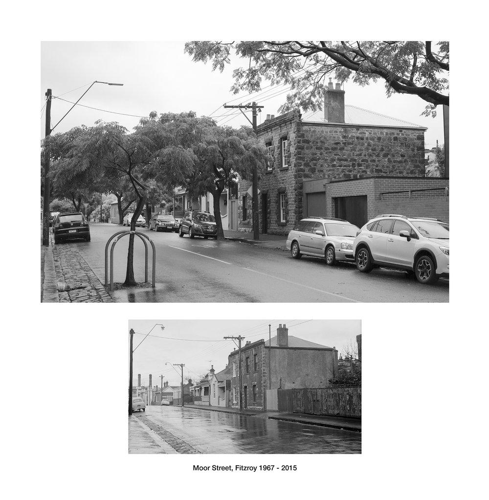 Moor Street, Fitzroy 1967 - 2016