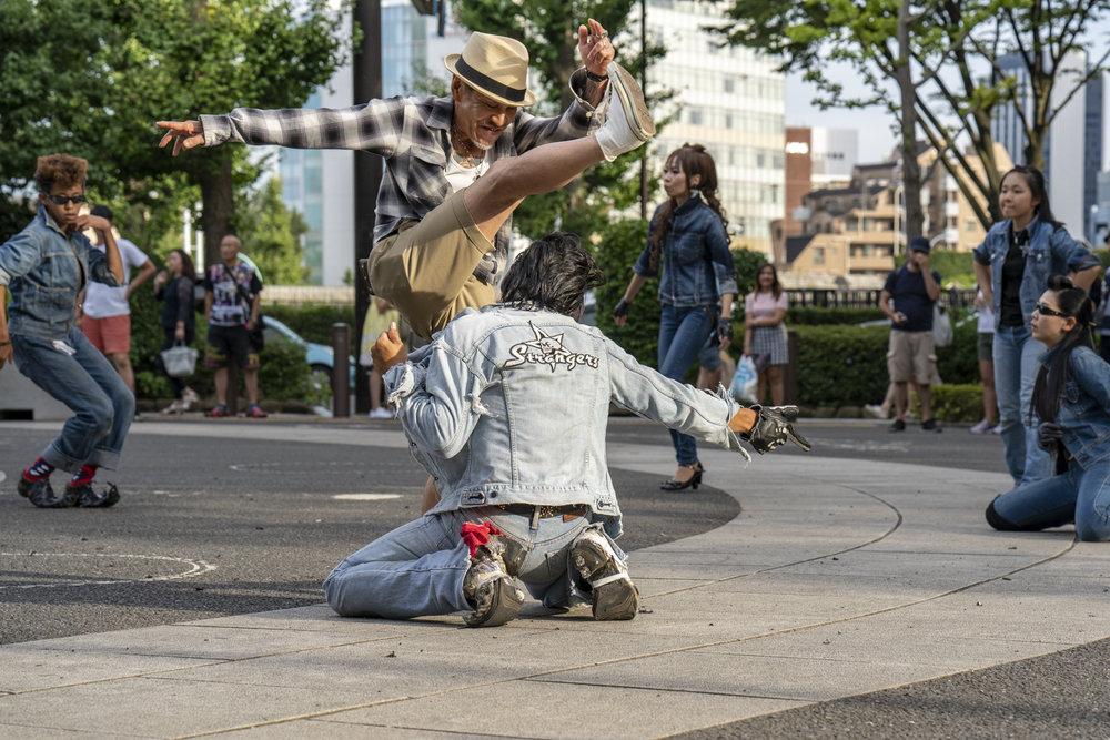 Rock 'n Roll dancers, Yoyogi Park, Tokyo