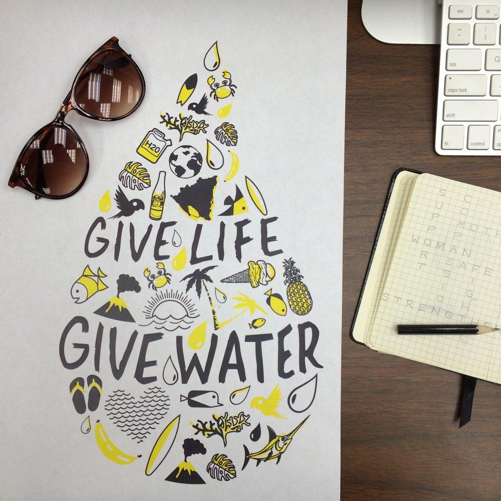 Custom design, illustration, creative direction and printing.