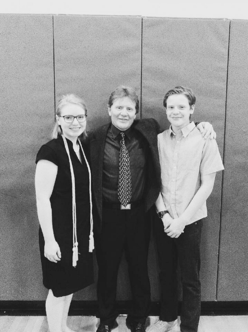 Ulmer with Katelynn and Ben. Image courtesy of Katelynn Ulmer.