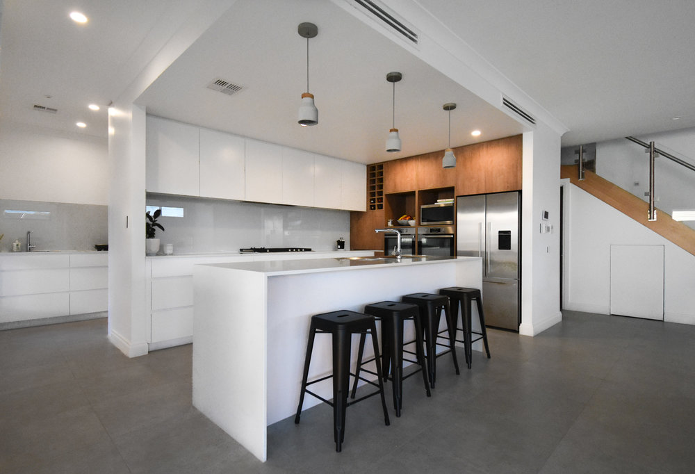 Niche Kitchens Create Beautiful Modern Kitchens Using The Latest Designs  And Materials Including Caesarstone, Laminate, Melamine And Vinyls.