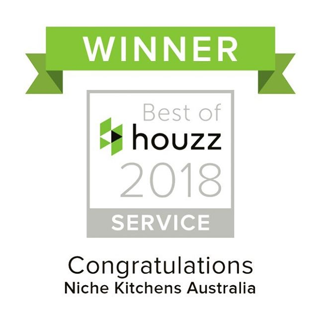 Nice little award to start off 2018! Thanks @houzzau for your amazing support!