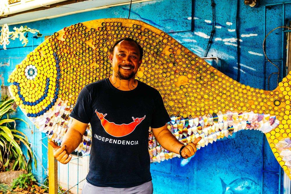 Ludovic Burns Tuki - Executive director de la mesa del mar