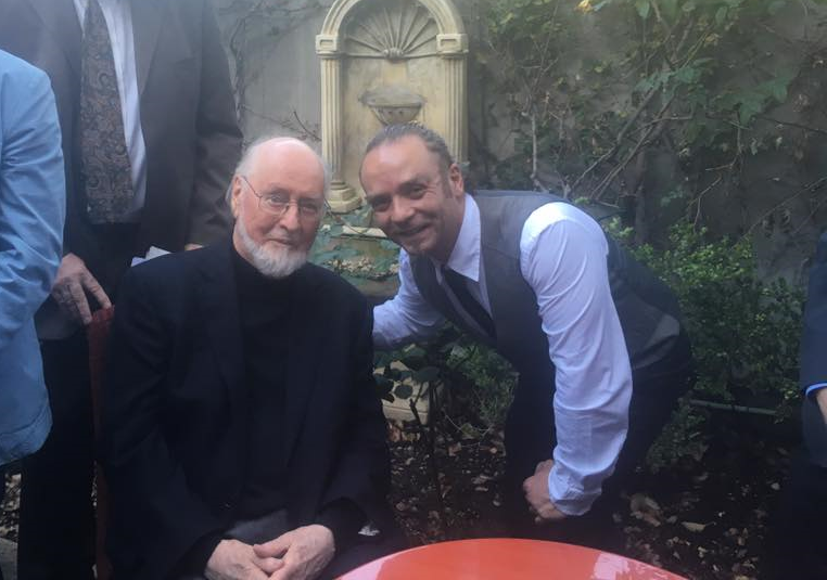 The one and only one John Williams at the SCL Event, 2016