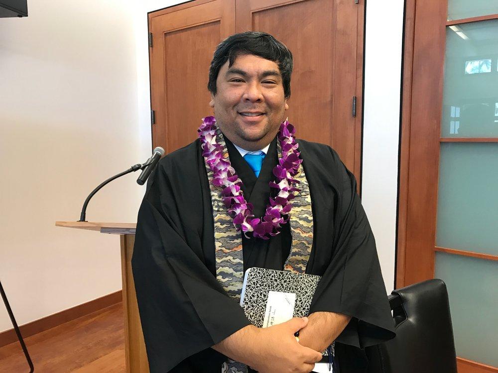 Guest Speaker Rev. David Fujimoto of Mililani Hongwanji
