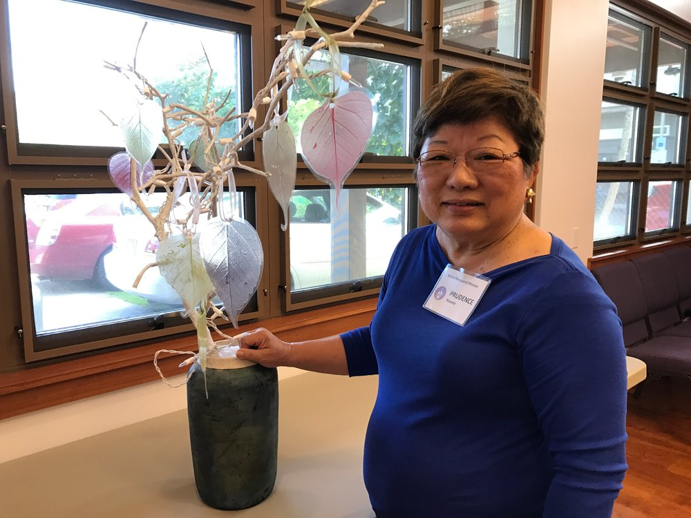 Prudence Kusano provides a preview of the First Sunday craft activity