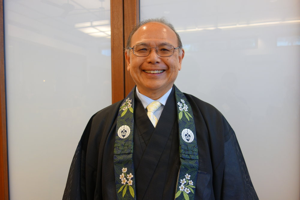Rev. Kevin Kuniyuki , Director of the  Buddhist Study Center