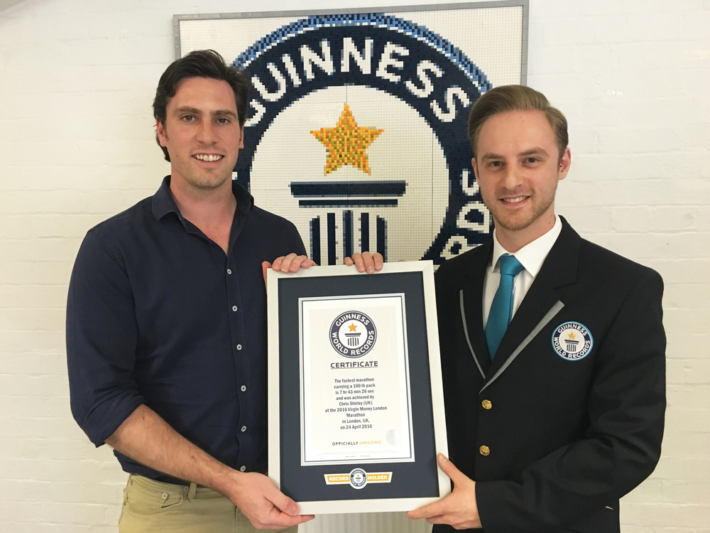 …to set a new Guinness World Record