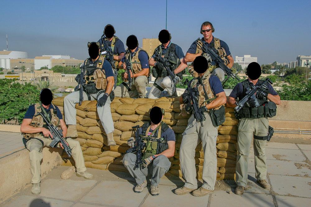HMA's CP team | Baghdad city | 2006