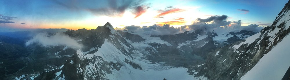One of the many incredible views that would greet us on the expedition
