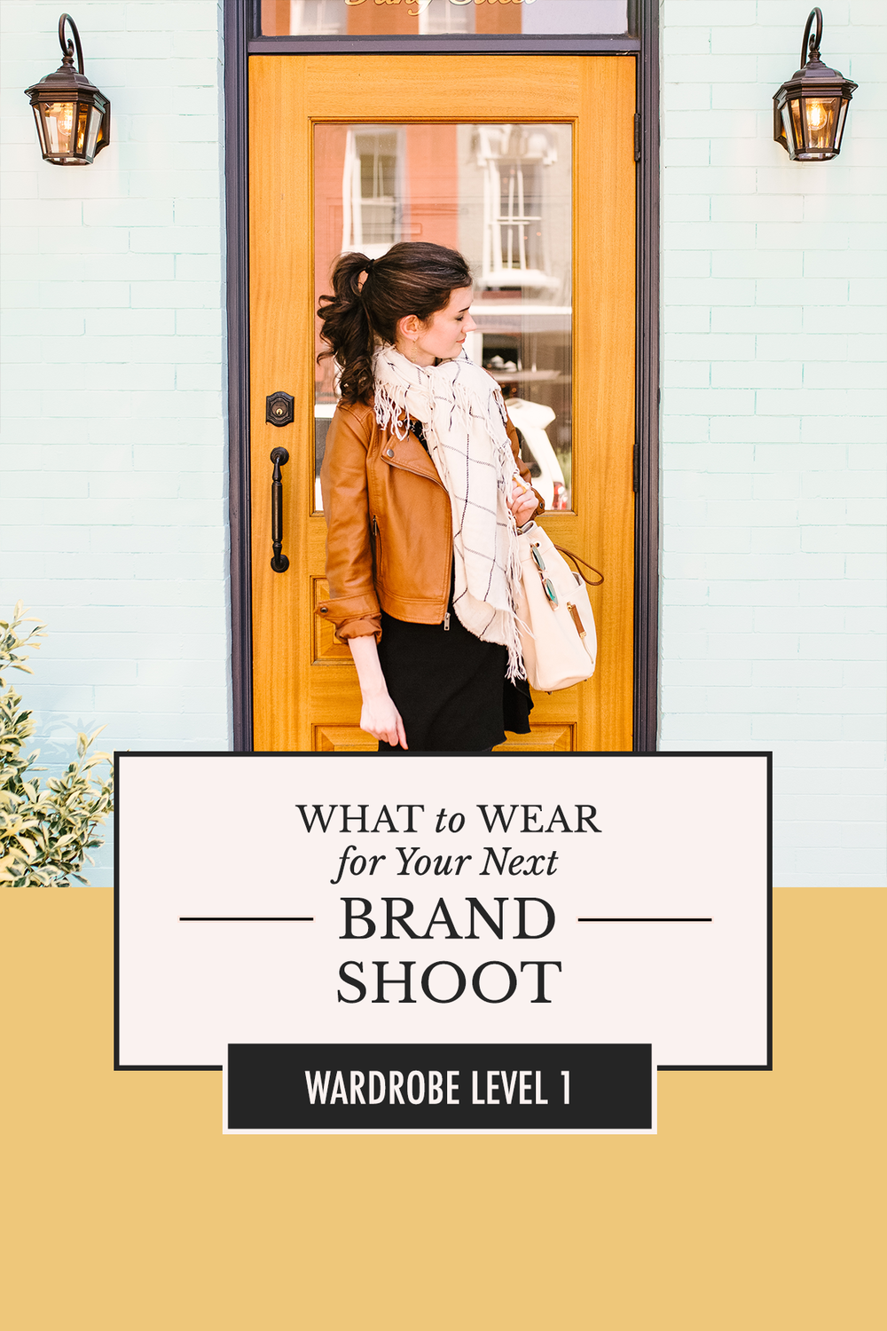 Nervous about what you should wear when you have professional photos taken? Use these 8 tips to look and feel your best! | What to Wear for Your Next Brand Shoot by Alexis the Greek