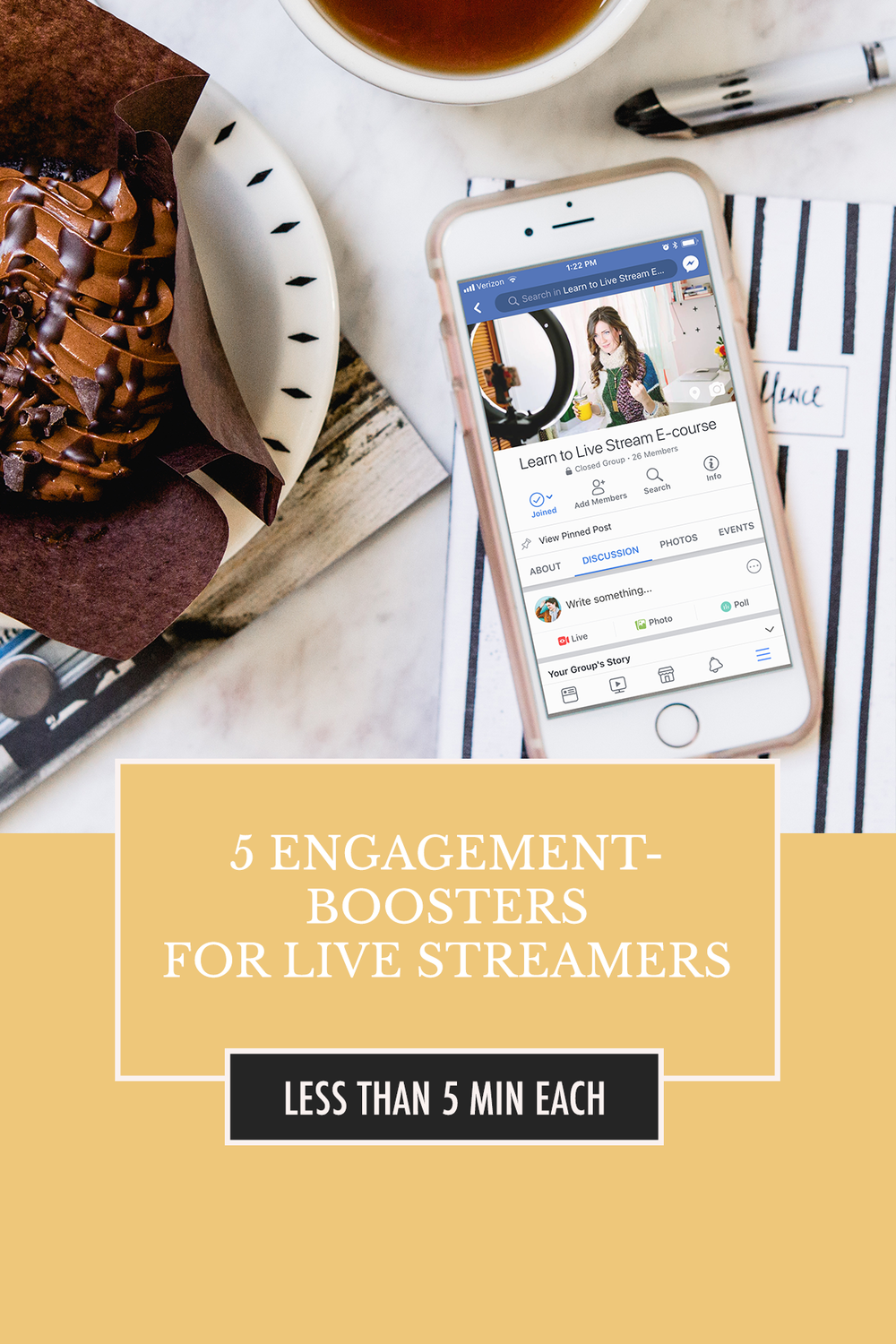 5 Engagement Boosters for Live Streamers on Any Platform |  Get more people to show up to your streams and interact with these 5 free, simple steps!  | Alexis the Greek blog