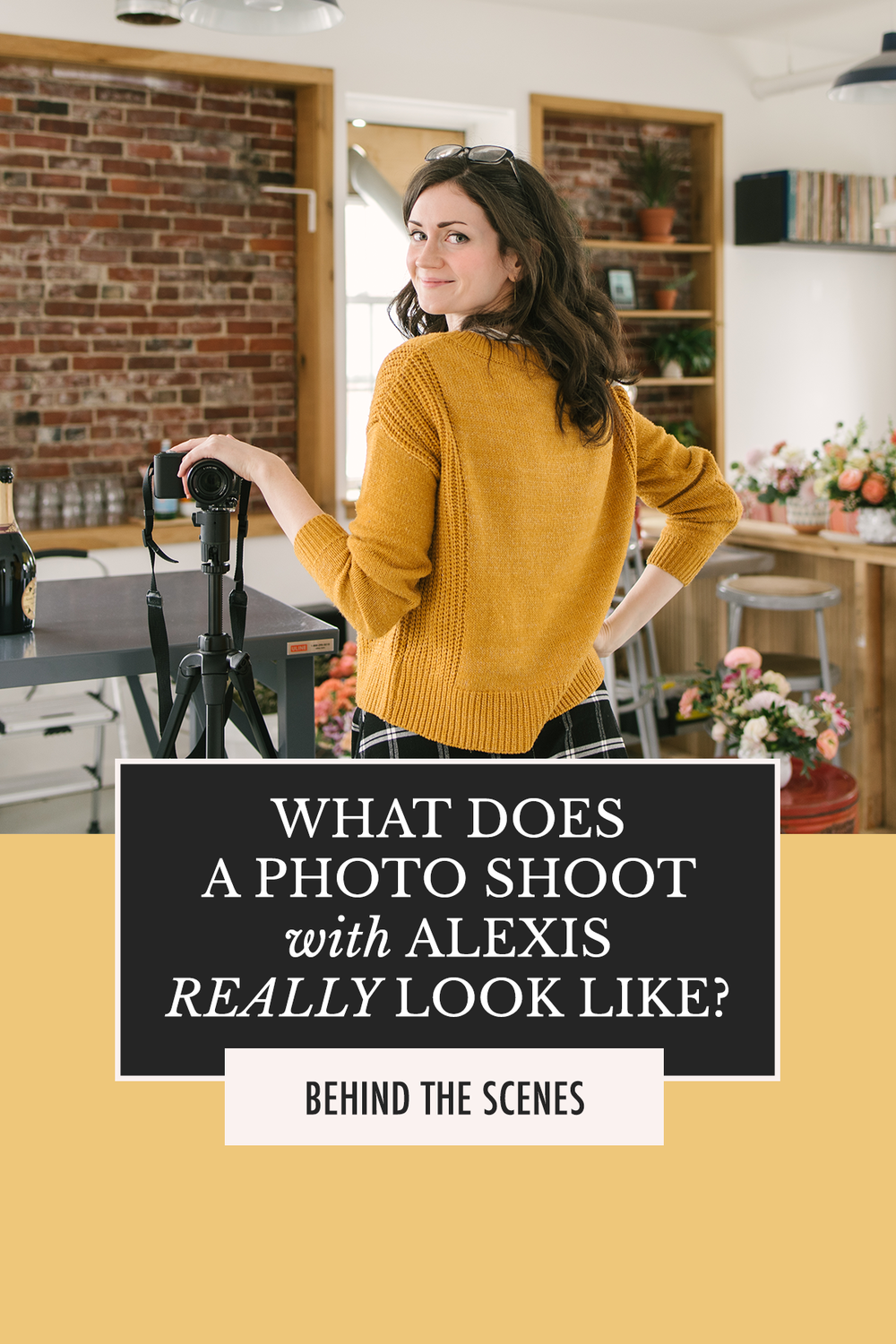 Behind the scenes with a photo stylist | Alexis the Greek blog | Discover how to style photos in ATG's Blog and Social Photography E-Course!