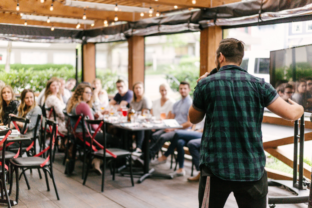 What to Do and What to Say at Networking Events—for Introverts, Extroverts, and Everyone In Between   3 Easy Networking Tricks to Try When You're First Starting Out in Business   Alexis the Greek blog