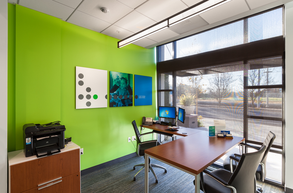 First Tech Federal Credit Union Interior Photography, San Jose, California