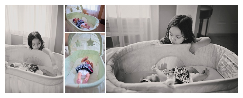 In-Home Lifestyle Newborn Photo