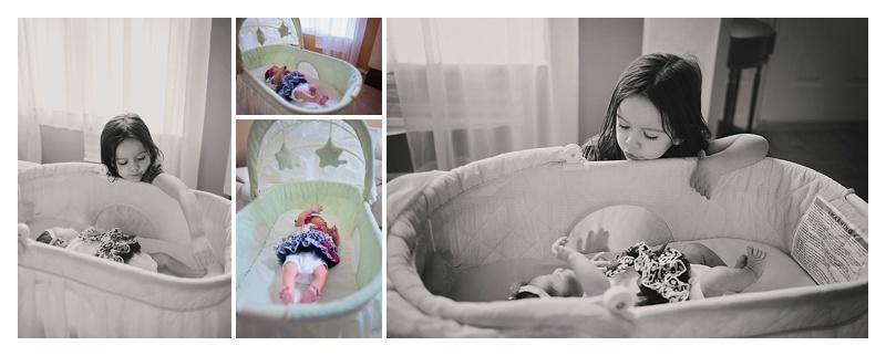 In-Home Lifestyle Newborn Photo