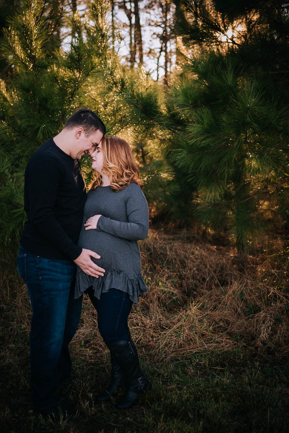 Couples Maternity Session in Hampton Roads, Va