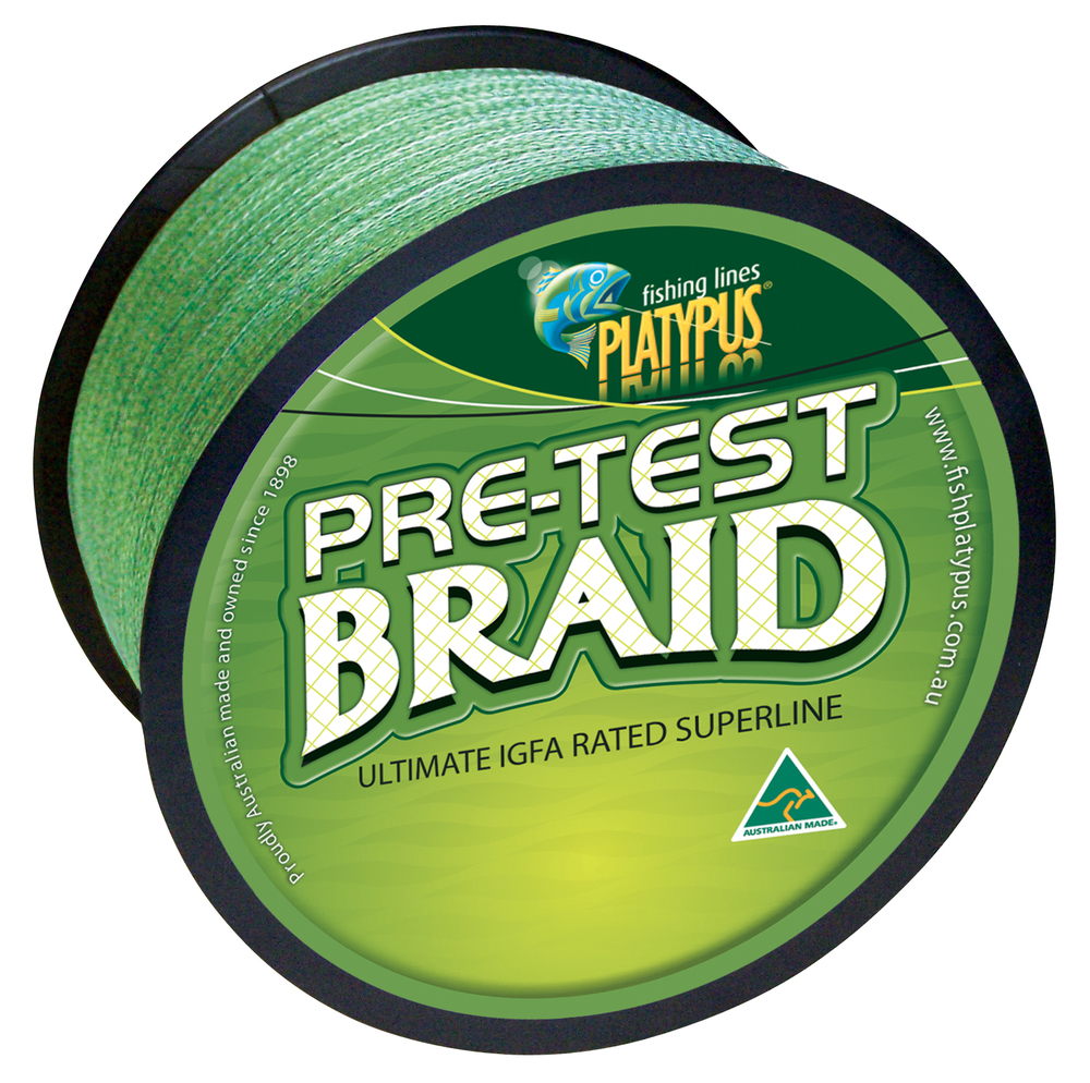 Pretest Braid - Dark Green