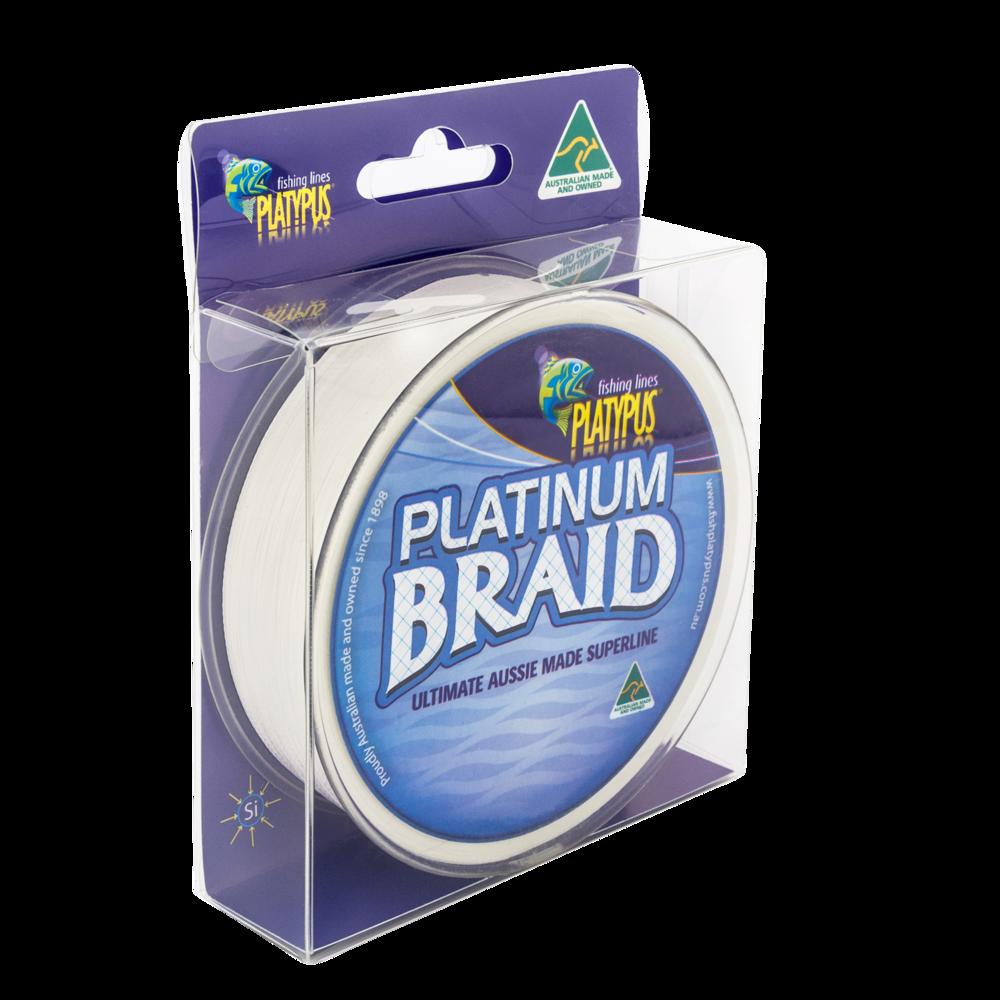 Platinum Braid - Natural White