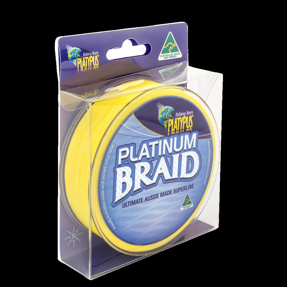 Platinum Braid - High Vis Yellow