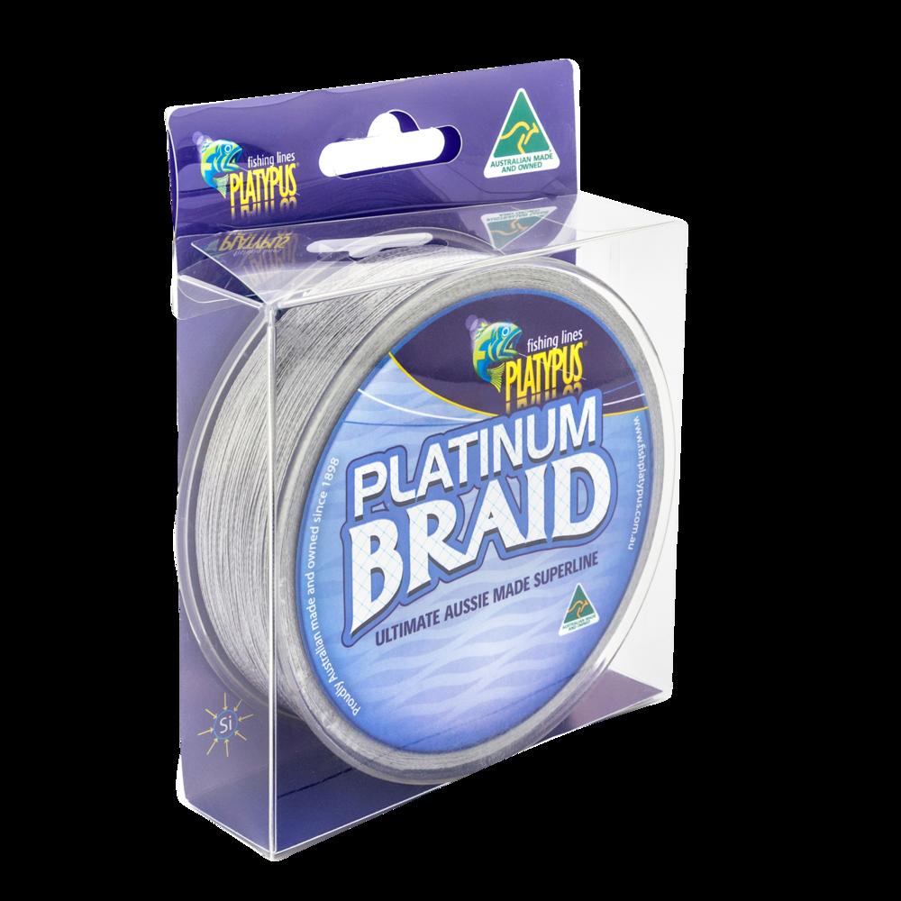 Platinum Braid - Gun Metal Grey