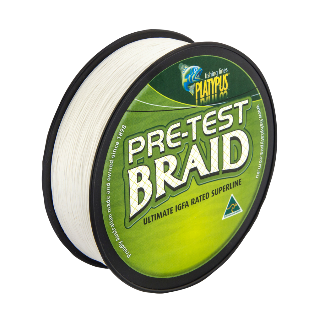 Pretest Braid - Natural White