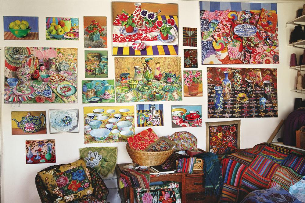 Kaffe Fassett's art, Dreaming In Color